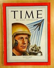 TEST PILOT CHUCK YEAGER cover story TIME Magazine April 18, 1949