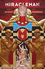 MIRACLEMAN #1 by Neil Gaiman and Buckingham 2015 Marvel Comic Books