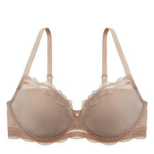 MFRP $70+ NWT Natori Pure Allure Natural Nude UW Full Figure T-Shirt Bra 32DD
