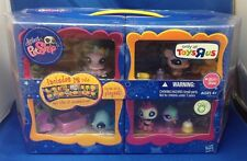 Littlest Pet Shop Toy R Us Exclusive Carry Case with 12 pets #1377-#1388 NEW HTF