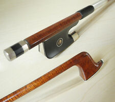 A pernambuco carbon fiber viola bow , ebony frog strong light, great performance