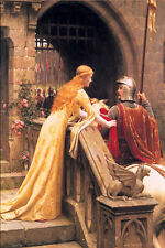 GOD SPEED by Edmund Blair Leighton. Fine Art Reproduction Poster