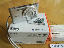 Sony Cyber-shot DSC-W830 20,1 MP Digitalkamera - Silber