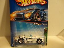 2005 Hot Wheels Treasure Hunt #123 Pearl White '58 Corvette w/Real Riders
