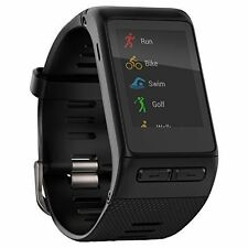 Garmin VivoActive HR Heart Rate Monitor Black Regular Size 010-01605-03 Watch