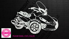 CAN-AM SPYDER  ST - WINDOW DECAL / STICKER  - 13 vinyl colors
