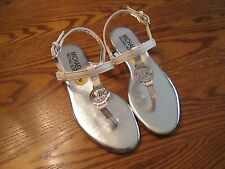 "Michael Kors ""Mandy "" White Sandals  Girl's Size 3, NEW"