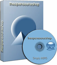 Simplymepis 11.0 Linux Live Bootable Startup DVD No Install Needed Runs from DVD