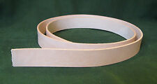 "1.25"" 8-9 oz. Cowhide Veg Tan Tooling Leather Belt/Strap 4 Slings Strops Tack"