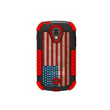 Beyond Cell Samsung Galaxy Light T399 Duo Shield American Flag Full Retailscr...