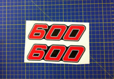 Yamaha XT 600 43 F nera rossa - adesivi/adhesives/stickers/decal