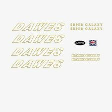 Dawes Super Galaxy Bicycle Decals-Transfers-Stickers n.6
