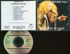 Jethro Tull Nothing Is Easy CD Stockholm 1969 live Swingin' Pig