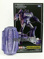 Takara Tomy Transformers Masterpiece MP-29 SHOCKWAVE G1 Laserwave figure + COIN