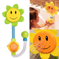 Sunflower Flow 'N' Fill Spray Shower Head Baby Infant Kids Bath Play Bathing Toy