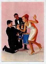 Festa Beat anni 60 Balletto Batteria Clarinetto Musica PC Circa 1960 Vera Foto