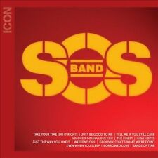 Icon by The S.O.S. Band (CD, 2011, Tabu) the best SOS greatest hits SEALED NEW