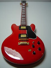 BB King Red Miniature Guitar