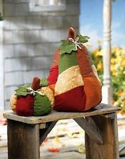 "New Thanksgiving Decoration Indoor Outdoor Stuffable Pumpkin 18""H Gourd 9""H SALE"