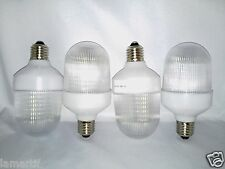 4PK WEATHERPROOF 12V DC 36 LED LIGHT BULB E26 MEDIUM BASE W COVER - 12VOLT BULBS