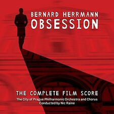 Bernard Herrmann: Obsession - City Of Prague Philharmo (2015, CD NEUF)2 DISC SET
