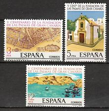 Spain - 1978 500 years Las Palmas - Mi. 2369-71 MNH