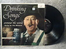 33 RPM LP Record The Blazers Drinking Songs Around The World ABC Records ABCS243