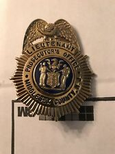 Rare Lieutenant Middlesex County Nj Prosecutor Office Original