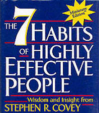 The 7 Habits of Highly Effective People by Stephen R. Covey (Hardback, 2000)