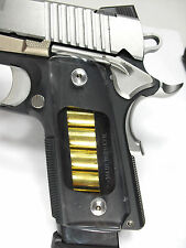 Clear COMPACT 1911 Grips Colt Kimber Sig Taurus Springfield