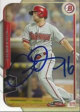 Chris Owings Arizona Diamondbacks 2015 Bowman Signed Card