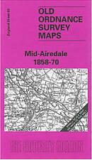 Mid-Airedale 1858-70: hoja de una pulgada 069 (antiguo Ordnance Survey mapas Pulgadas a TH