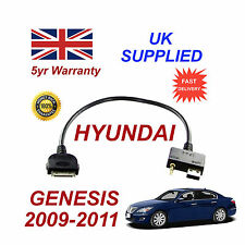 Hyundai GENESIS 2009 - 2011 iPhone 3gs 4 4s iPod USB & Aux Cable
