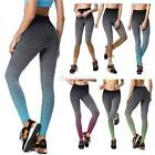 Women Stretch High Waist Gym Yoga Fitness Leggings Pants Cropped Sports Trousers