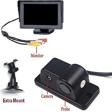 Car Reverse Parking Asst. Dual Mount 4.3 LCD & Rear view camera & sensor radar
