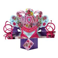 Mum Pop-Up Greeting Card Birthday Or Mother's Day Second Nature 3D Pop Up Cards