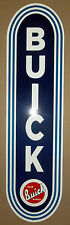 Great Looking Heavy Steel Buick Sign, Great Colors and Very Glossy