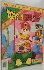 WHAT S MY DESTINY DRAGONBALL Z PANINI CARTOON CARTONI ANIMATI TV COLLEZIONISMO
