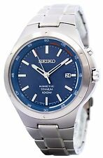 Seiko Kinetic Titanium Power Reserve SKA711 SKA711P1 SKA711P Mens Watch