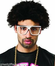LMFAO PARTY ROCK Glasses Frames WHITE Black Redfoo Costume Sexy Dance Wayfarer