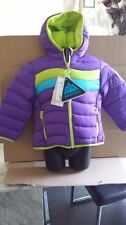 BNWT SNOZU HOODED DOWN FILLED FLEECE LINED COAT XS