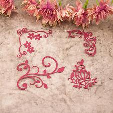 Flower DIY Cutter Cutting Dies Stencils Scrapbooking Album Embossing Craft Gift