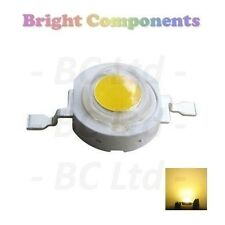 10 x 1W Yellow Power LED - Ultra Bright - 10 Pack - 1st CLASS POST