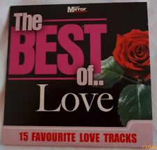 The Best of Love CD The Mirror Issue 15 Fav Love Tracks Pop/classical combo