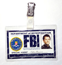 Supernatural Castiel Angel FBI ID Badge Cosplay Prop Costume Novelty Christmas