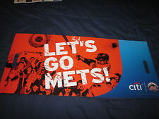 """New York Mets Fan Banner Poster from Citi Field Curtis Granderson 26.5"""" x 11.75"""""""