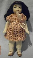 Antique german tous bisque doll, 620, 3.7 pouces/9,5cm tall
