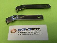 MGF / MG TF / LE500 PAIR OF POLISHED STAINLESS STEEL HORN BRACKETS / MOUNTINGS