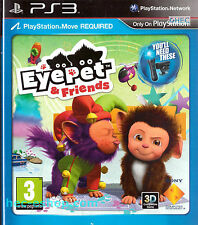 EyePet and Friends Sony Playstation 3 PS3 3+ Virtual Pet Game
