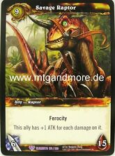 WoW - 1x Savage Raptor - War of the Elements